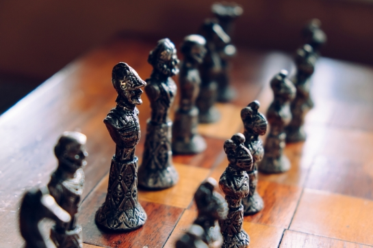 Canva - Close-up of chess pieces